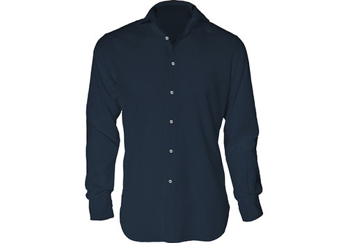 MC2 Saint Barth Mc2 Saint Barth Pamplona Classic Shirt Blue Navy