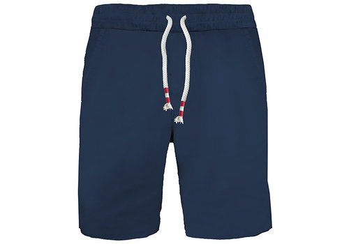 MC2 Saint Barth Mc2 Saint Barth Randle Raw Cut Cotton Fleece Short Denim