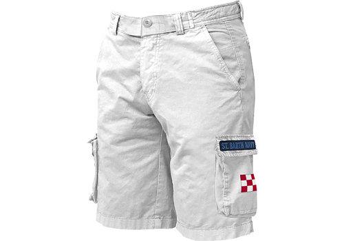 MC2 Saint Barth Mc2 Saint Barth Freeport Cargo Pocket Short White