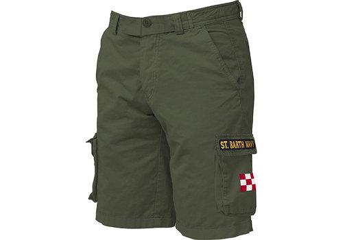 MC2 Saint Barth Mc2 Saint Barth Freeport Cargo Pocket Short Military Green