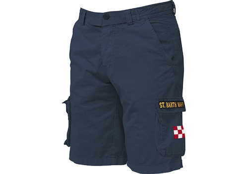 MC2 Saint Barth Mc2 Saint Barth Freeport Cargo Pocket Short Navy