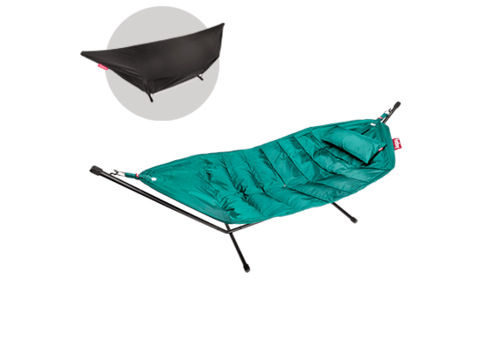 Fatboy Fatboy Headdemock Turquoise DeLuxe met Pillow en Cover