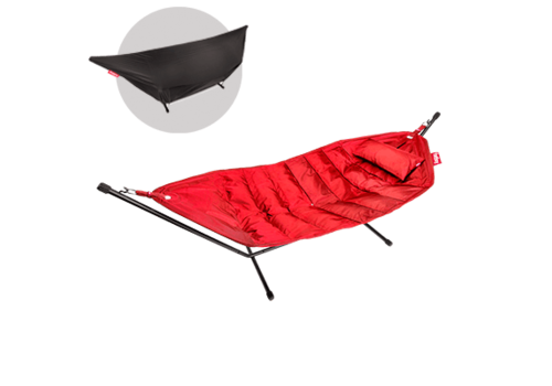 Fatboy Fatboy Headdemock Red DeLuxe met Pillow en Cover