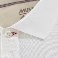 Musto 80430 Evo Pro Lite Plain Ss Polo White