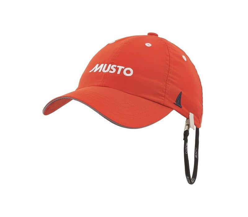 Musto 80032 Fast Dry Crew Cap Fire Orange