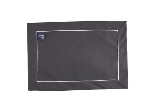 ARC Placemat set 6 Waterproof 45x30 Anthracite