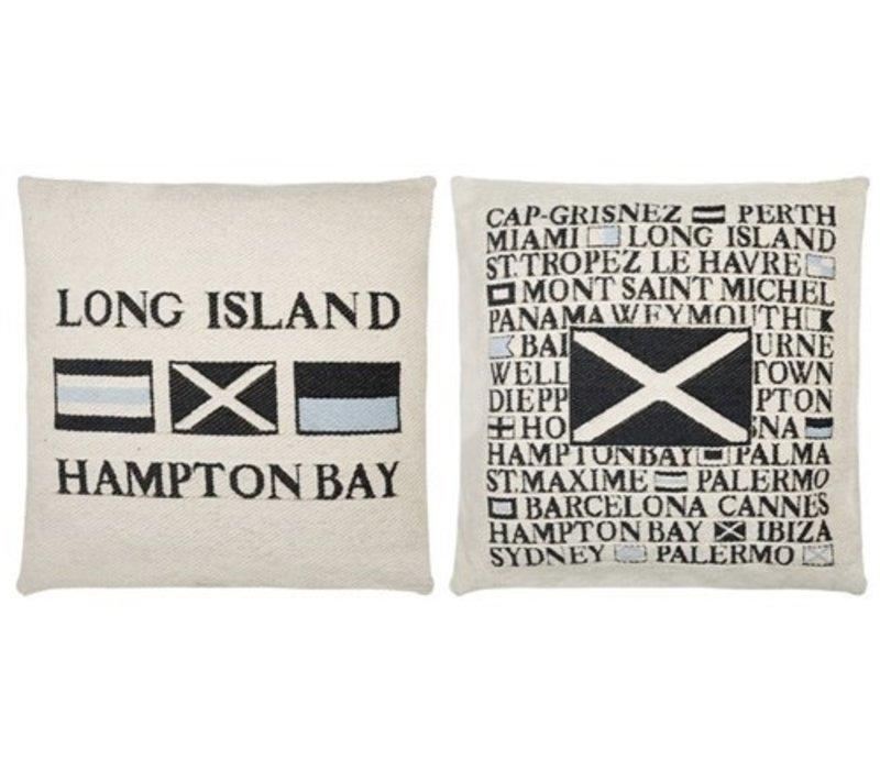 Log Island Cushions set van 2