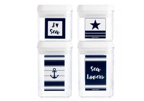 ARC Marine Sea Lovers Set Canisters (4 Pcs.)