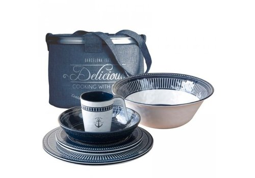 ARC Marine Sailor Soul Table Ware Set - 13 pcs.