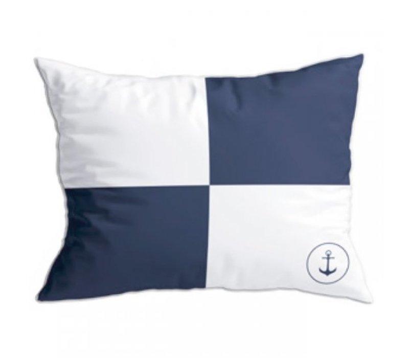 Santorini Set Cushions - Flags II Blu