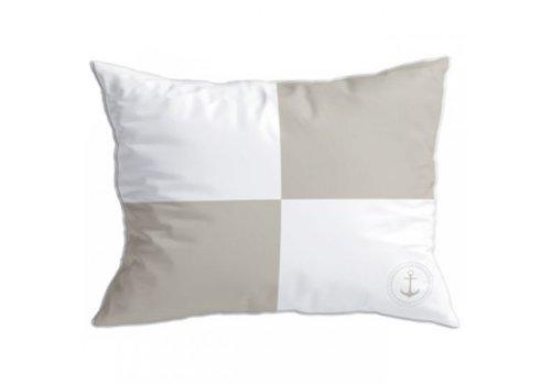 ARC Marine Santorini Set Cushions - Flags Ii Beige