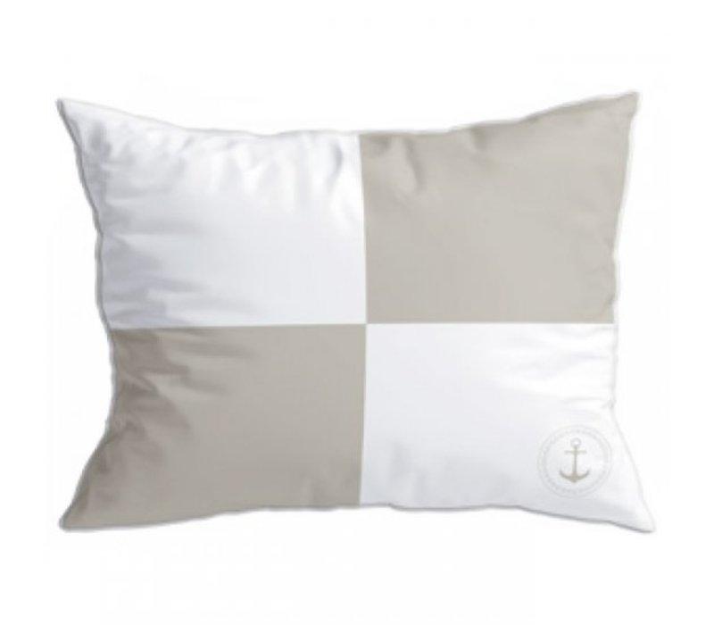 Santorini Set Cushions - Flags Ii Beige