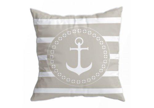 ARC Marine Santorini Set Cushions - Navy Beige