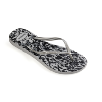 Havaianas Flip Flop Women Slim Animals Grey Silver/Ice Grey