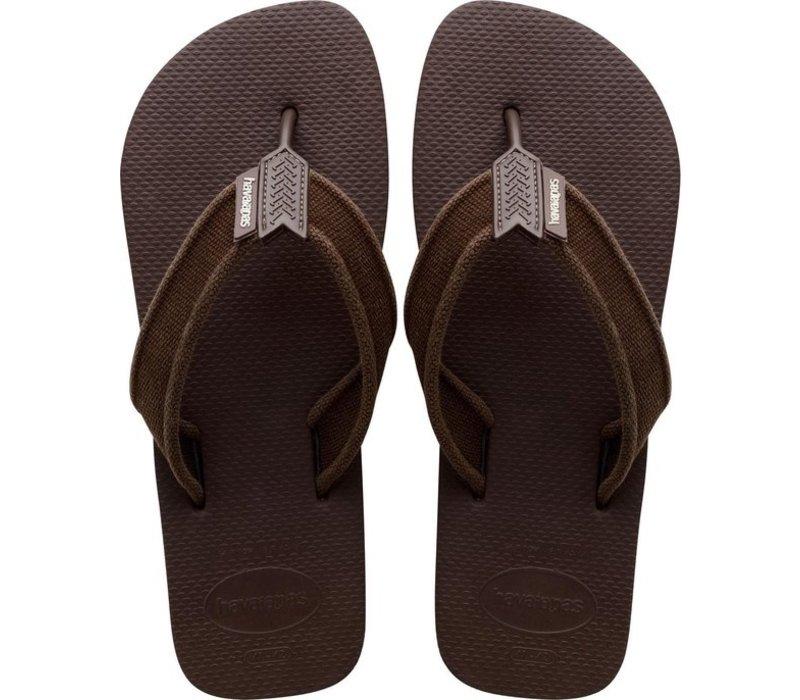 Havaianas Flip Flop Men Urban Classic Basic Dark Brown