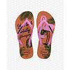 Havaianas Havaianas Flip Flop Kids Slim Glitter Ballet Rose