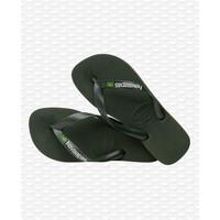 Havaianas Flip Flop Brazil Logo Green Olive