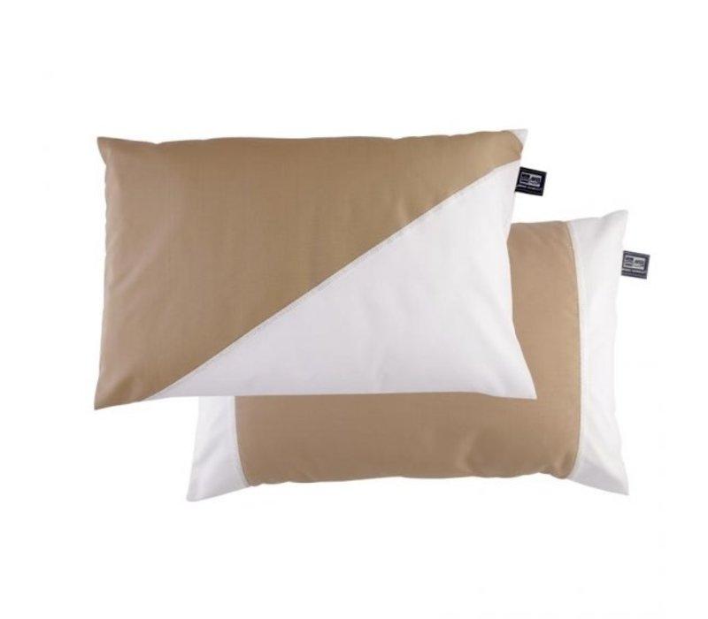 Waterproof Cushion Set Beige 40x60