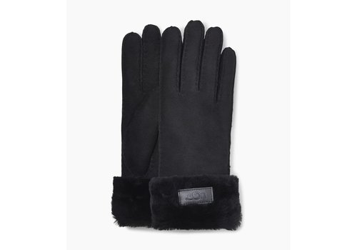 Ugg Ugg Turn Cuff Gloves Women Black