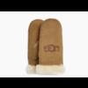 Ugg UGG Sheepskin Logo Mitten Chestnut