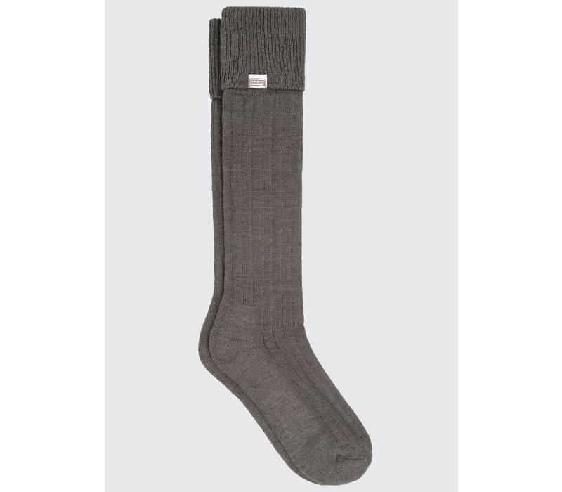 Dubarry Alpaca Socks Short Olive