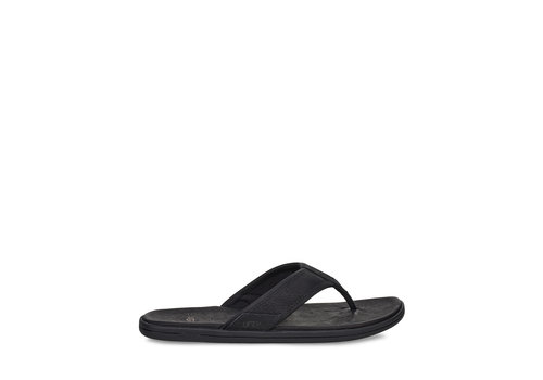 Ugg UGG SEASIDE FLIP LEATHER BLK