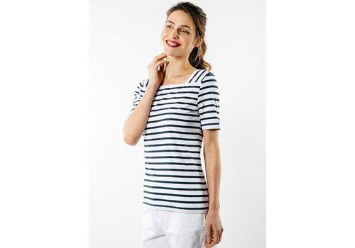 Saint James Saint James T-shirt Pleneuf Neige Voyage