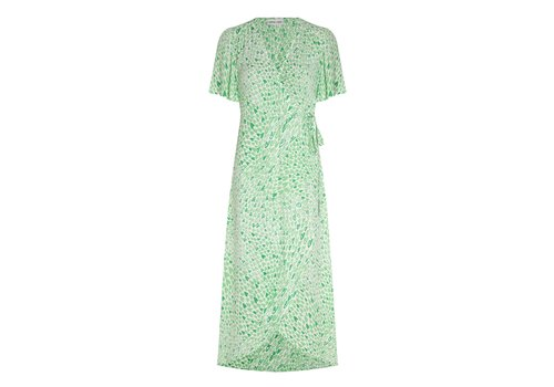 Fabienne Chapot Fabienne Chapot Archana Sleeve Dress Love Stream Cream White/Sea Green