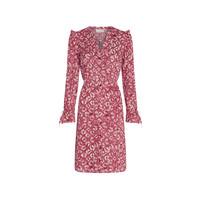 Fabienne Chapot Becca Dress Tie Dyemonds Cherry Red/Trippy Pi