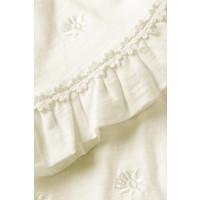 Fabienne Chapot Leo T-shirt EMB Cream White