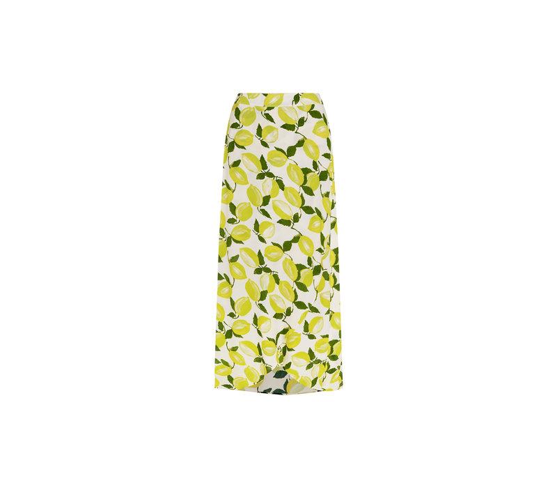 Fabienne Chapot Cora Skirt Lime Lights Cream White/Pistache