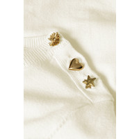 Fabienne Chapot Molly Short Sleeve Pullover Cream White