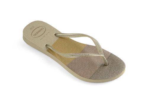 Havaianas Havaianas Flip Flop Women Slim Palette Glow Sand Grey