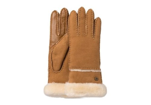 Ugg Ugg Seamed Tech Glove Chestnut