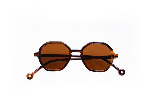 Parafina Parafina Eco Silicone Cascade Amber Tortoise Brown