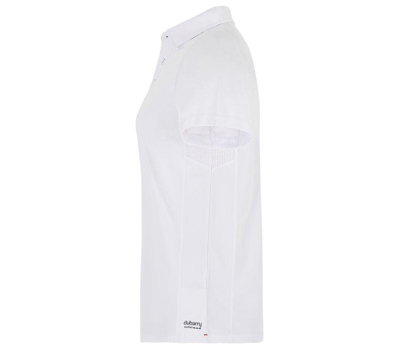 Dubarry Menton Technical Polo White