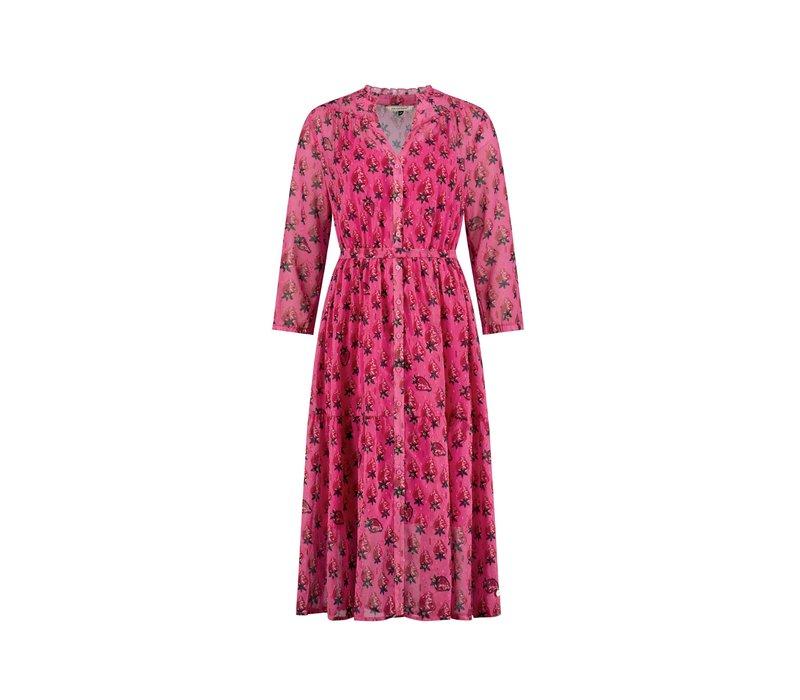 POM Amsterdam Dress Strawberry Pink