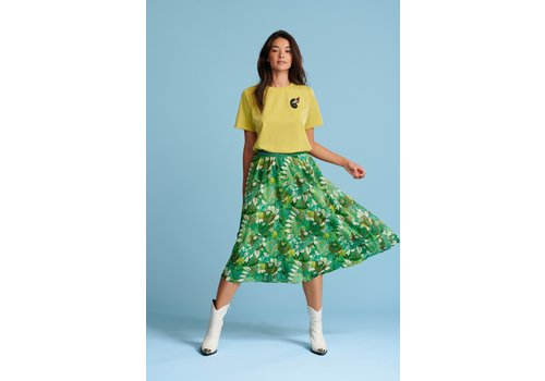 POM POM Amsterdam Skirt Jungle Beats Green