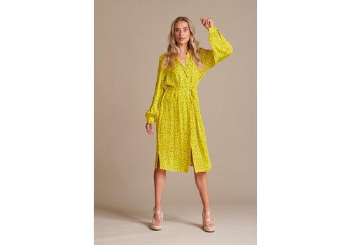 POM POM Amsterdam Dress Flower Kisses Lemon