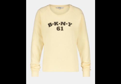 PENN&INK Penn & Ink Sweater Print F895 Almond Black