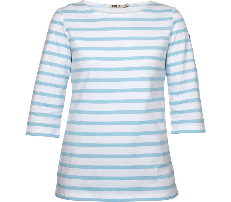 Batela Navy Striped T-shirt Corde/Blue/Roi