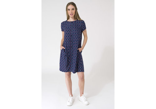 Batela Batela Nautical Dress With Pockets RT