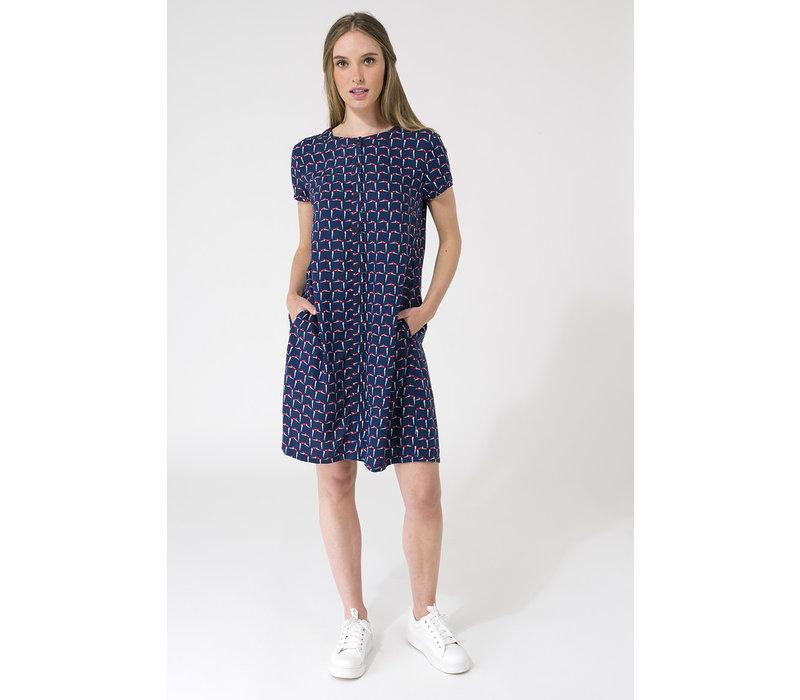 Batela Nautical Dress With Pockets RT