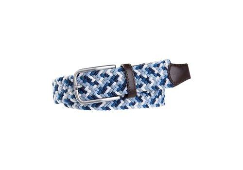 Profuomo Profuomo Belt Elasticated Russ Blue