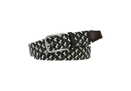 Profuomo Profuomo Belt Elasticated Russ Green