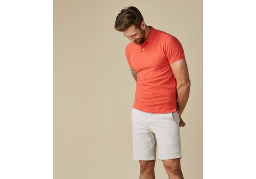 Profuomo Profuomo Polo Short Sleev Jamil Red