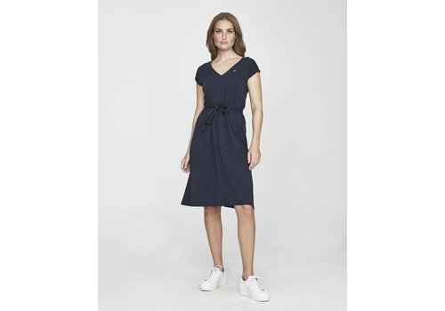 Holebrook Holebrook Lisa V-neck Dress Navy