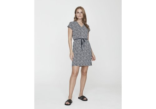Holebrook Holebrook Kajsa Tee Dress Navy Meadow