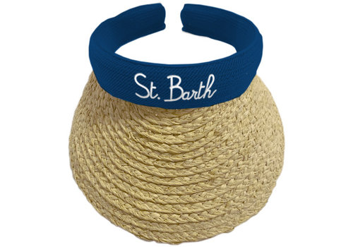 MC2 Saint Barth Mc2 Saint Barth Lexi Straw Visor Hat 6101