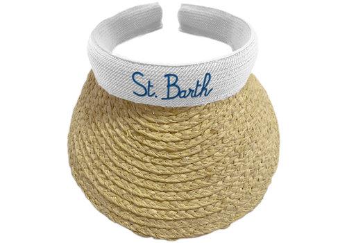 MC2 Saint Barth Mc2 Saint Barth Lexi Straw Visor Hat 0161